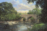 Old Bridge, Derbyshire Giclee Print by Clive Madgwick