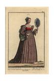 Noblewoman of Spain Giclee Print