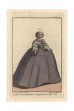 Maria Theresa, Infanta of Spain, 1660 Giclee Print