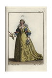 Marie De Medicis, Second Wife to Henri IV, King of the French Giclee Print