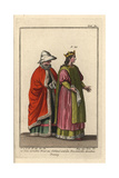 Noble Bride and Woman of Gothland, Sweden Giclee Print