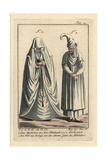 Spanish Woman of the 14th Century (2), and Woman of Biscay Giclee Print