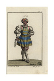 Man of Fashion in Venice and Other Italian Towns, 16th Century Giclee Print
