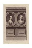 Francesca Cuzzoni Sandoni (1696-1778) and Signora Faustina Bordoni (1770-1781) Giclee Print