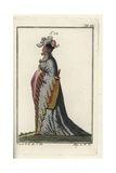 Eccentric Dress of a French Count, 1399 Giclee Print