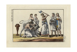 Roman Sacrificial Offering Giclee Print