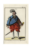 Swiss Courtier, 1577 Giclee Print