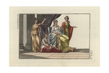Refined Roman Women and their Surroundings Giclee Print