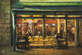 The Nighthawks, St Germain Giclee Print by Clive McCartney