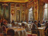 Afternoon at The Ritz Giclee Print by Clive McCartney