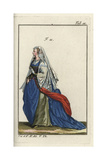 Woman of Rome in Formal Attire 1581 Giclee Print
