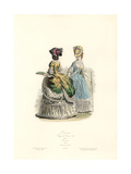 Noblewomen, Reign of Louis XVI, 1783 Giclee Print
