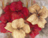 Lily Reds II Giclee Print by  Carson