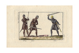 Danish Soldiers in Chain-Mail Suits of Armor Giclee Print