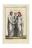 Roman Bride and Groom with the Goddess Juno Giclee Print