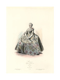 Marquise, Reign of Louis XV, 1740 Giclee Print