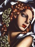 The Brilliance Reproduction procédé giclée par Tamara de Lempicka
