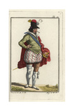 Dress of a French Merchant, 1626 Giclee Print