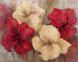 Lily Reds I Giclee Print by  Carson