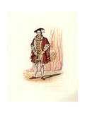 King Edward VI Giclée-trykk av Charles Martin