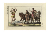 Roman Dancer and Circus Rider Giclee Print