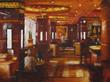The Rivoli Bar, The Ritz Giclee Print by Clive McCartney