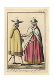 Portuguese Man and Woman, 1660 Giclee Print