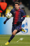 Messi - Autograph Poster