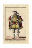 King Henri VIII of England, 1520 Giclee Print
