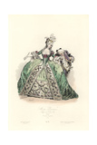 Paris Fashions, Reign of Louis XVI, 1777 Giclee Print