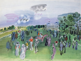 Longchamps Giclee Print by Raoul Dufy