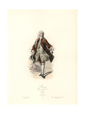 Marquis, Reign of Louis XV, 1740 Giclee Print