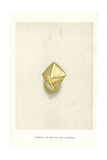 Crystal of Yellow Cape Diamond Giclee Print