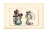 Hat Inspired by Salieri's Opera Tarare Giclee Print