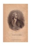 Baron Charles De Geer (1720-1778), Swedish Entomologist Giclee Print