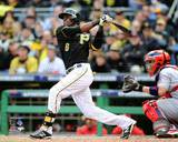 Starling Marte Game 4 of the 2013 NLDS Action Photo