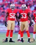 Patrick Willis & NaVorro Bowman 2012 Action Photo