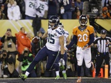 NFL Super Bowl 2014: Feb 2, 2014 - Broncos vs Seahawks - Jermaine Kearse Photographic Print by Matt Slocum