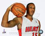 Miami Heat Mario Chalmers 2013-14 Posed Photo