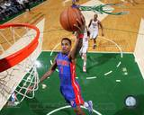 Detroit Pistons Brandon Jennings 2013-14 Action Photo