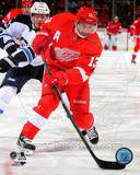 Detroit Red Wings Pavel Datsyuk 2013-14 Action Photo