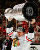 Sheldon Brookbank with the Stanley Cup Game 6 of the 2013 Stanley Cup Finals Photo