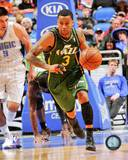 Utah Jazz Trey Burke 2013-14 Action Photo