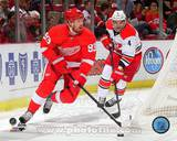 Detroit Red Wings Johan Franzen 2013-14 Action Photo