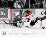 Jordan Eberle 2009 Team Canada World Junior Championship Spotlight Action Photo