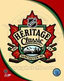 2014 NHL Heritage Classic Logo Photo