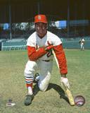 Lou Brock Posed Photo