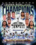 Seattle Seahawks Super Bowl XLVIII Champions Composite Photo