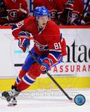 Montreal Canadiens Lars Eller 2012013 Action Photo