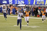 NFL Super Bowl 2014: Feb 2, 2014 - Broncos vs Seahawks - Malcolm Smith Photo af Gregory Bull